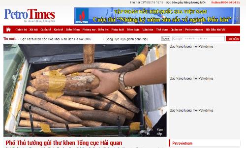 Đình bản tạm thời báo Petrotimes, thu hồi thẻ nhà báo của ông Nguyễn Như Phong - Ảnh 1