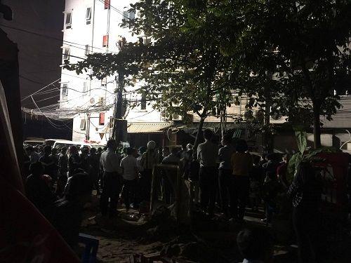 Vụ cháy quán karaoke ở Trần Thái Tông: 12 người tử vong - Ảnh 2