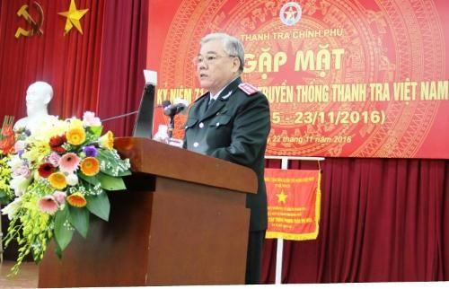 Tự hào truyền thống 71 năm ngành Thanh tra Việt Nam - Ảnh 1