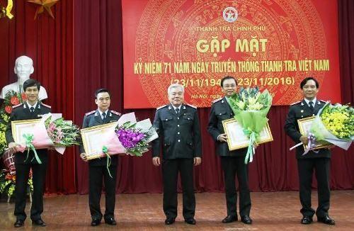 Tự hào truyền thống 71 năm ngành Thanh tra Việt Nam - Ảnh 6