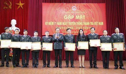 Tự hào truyền thống 71 năm ngành Thanh tra Việt Nam - Ảnh 7