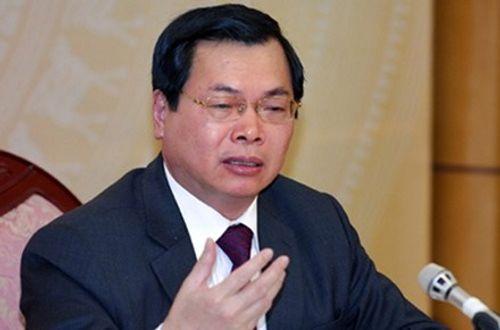 Quốc hội giao cơ quan pháp luật xử lý nguyên Bộ trưởng Vũ Huy Hoàng - Ảnh 1