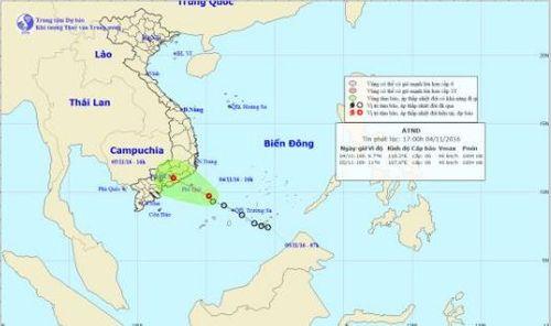 Dự báo thời tiết ngày mai 5/11: Áp thấp nhiệt đới gây mưa dông mạnh - Ảnh 1