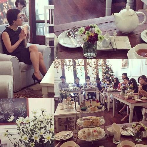 Quán Trà Anh siêu xinh hút loạt hoa hậu, hot girl và người nổi tiếng ở Hà Thành  - Ảnh 14