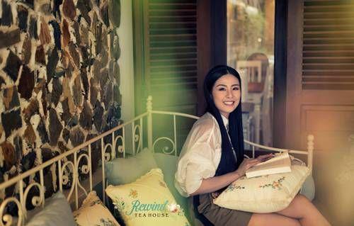 Quán Trà Anh siêu xinh hút loạt hoa hậu, hot girl và người nổi tiếng ở Hà Thành  - Ảnh 2