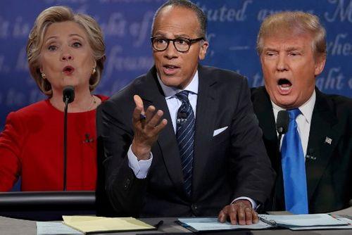 Người điều phối cuộc tranh luận Clinton – Trump mất điểm - Ảnh 1