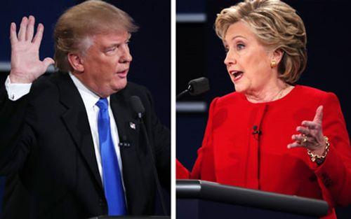 """Báo Nga: Tranh luận Trump-Clinton là """"màn kịch"""" của bầu cử Mỹ - Ảnh 1"""