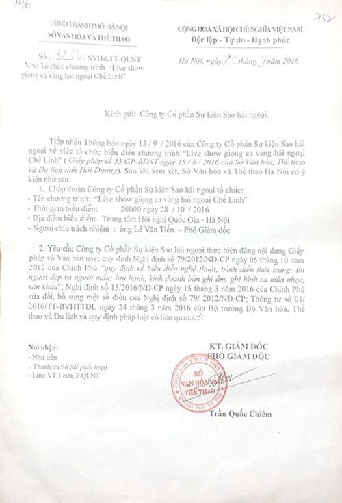 Chế Linh được cấp phép một loạt ca khúc mới hát trong liveshow Hà Nội - Ảnh 2