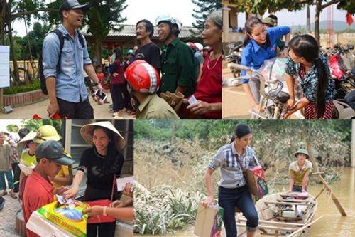 Tin tức giải trí nổi bật tuần qua: Sao Việt chung tay giúp đỡ miền Trung - Ảnh 1