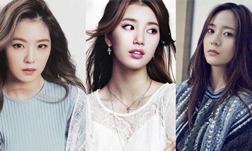 """""""Phiên bản tương lai"""" của 3 nữ thần nhan sắc Kpop Suzy, Krystal, Irene - Ảnh 1"""