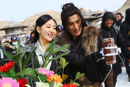 Mặc tin đồn ngoại tình - ly hôn, Dương Mịch vẫn khẳng định tin tưởng Lưu Khải Uy - Ảnh 4