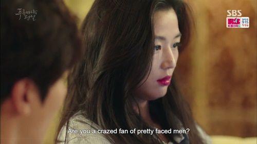 Huyền thoại biển xanh tập 2: Jun Ji Hyun lần đầu cất tiếng nói - Ảnh 2