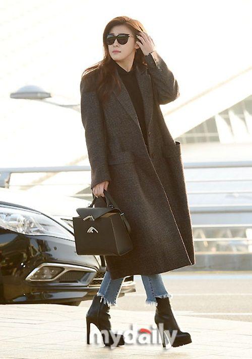 Taeyeon, Kim Yoo Jung đẹp tựa thiên thần tại sân bay đi dự MAMA 2016 - Ảnh 5