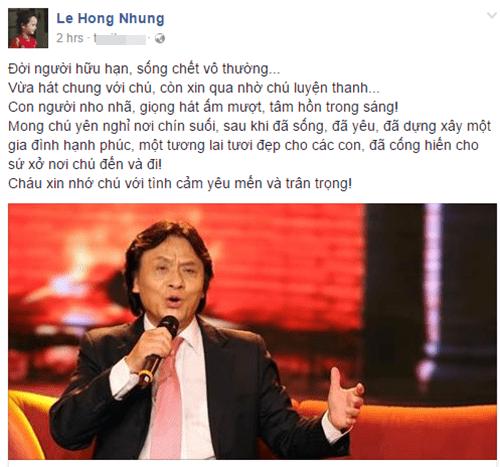 Nghệ sĩ Việt ngậm ngùi thương tiếc NSƯT Quang Lý - Ảnh 4