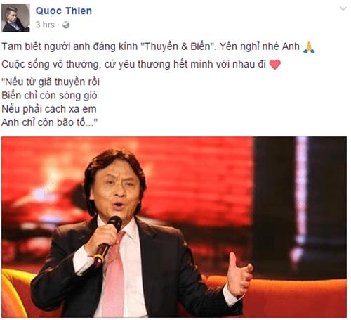 Nghệ sĩ Việt ngậm ngùi thương tiếc NSƯT Quang Lý - Ảnh 6