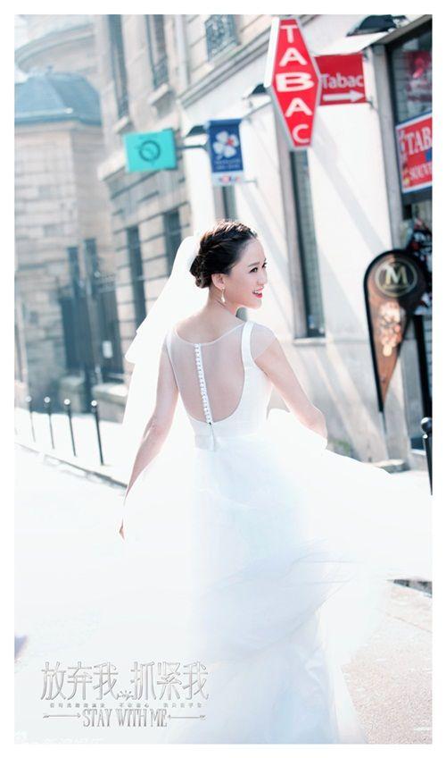 Trần Kiều Ân lộng lẫy với váy cưới, quấn quýt bên Vương Khải - Ảnh 2
