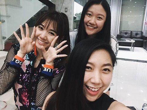Sự khác biệt trong cách đối xử của em gái Trấn Thành với Mai Hồ và Hari Won - Ảnh 1
