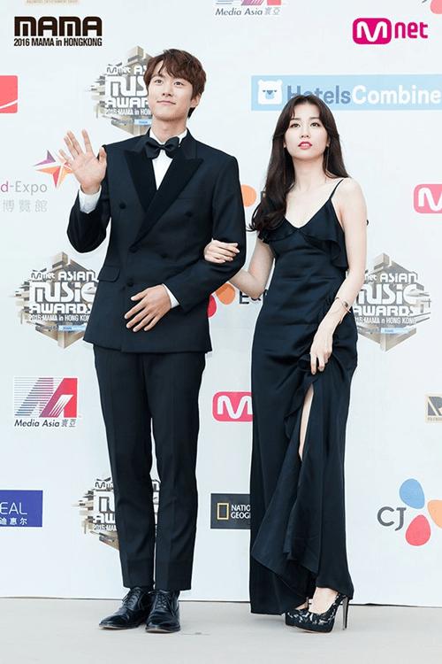 Dàn mỹ nam mỹ nữ xứ Hàn tỏa sáng trên thảm đỏ MAMA 2016 - Ảnh 12