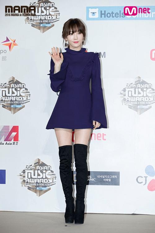 Dàn mỹ nam mỹ nữ xứ Hàn tỏa sáng trên thảm đỏ MAMA 2016 - Ảnh 2