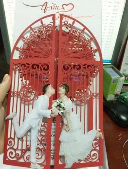 """Lộ thiệp cưới và tin nhắn mời đám cưới """"có một không hai"""" của Trấn Thành - Ảnh 3"""