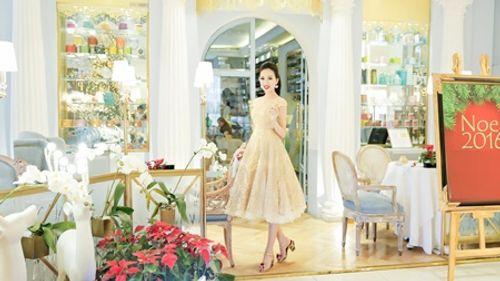 Hoa hậu Huỳnh Thúy Anh một mình cafe ngày cuối tuần - Ảnh 5