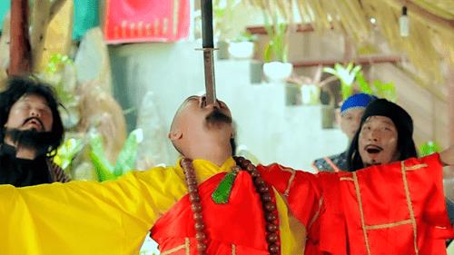 Kỹ xảo ngang tầm phim kiếm hiệp của Bảo Chung trong sản phẩm hài mới - Ảnh 1