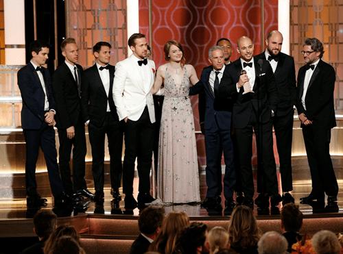 """""""La La Land"""" thâu tóm giải thưởng tại Quả Cầu Vàng 2017 - Ảnh 4"""