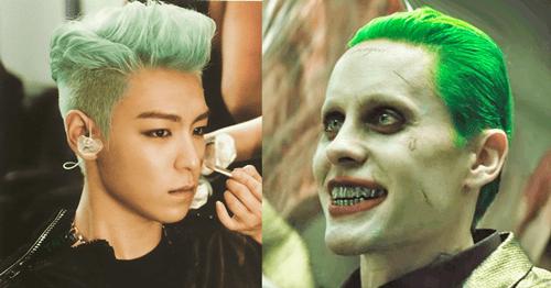 Bất ngờ phát hiện kiểu tóc của T.O.P là nguồn cảm hứng cho nhân vật Joker - Ảnh 3