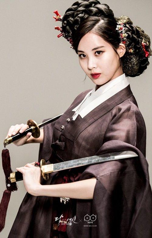 Xao xuyến với tạo hình cổ trang của mỹ nam mỹ nữ xứ Hàn - Ảnh 12