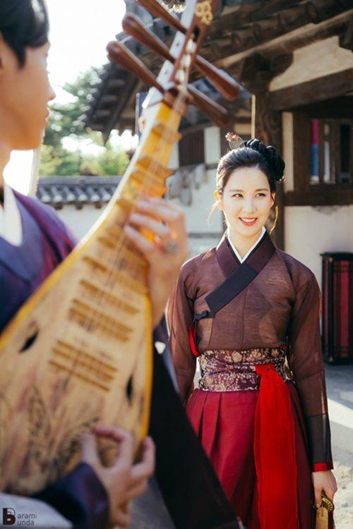 Xao xuyến với tạo hình cổ trang của mỹ nam mỹ nữ xứ Hàn - Ảnh 11