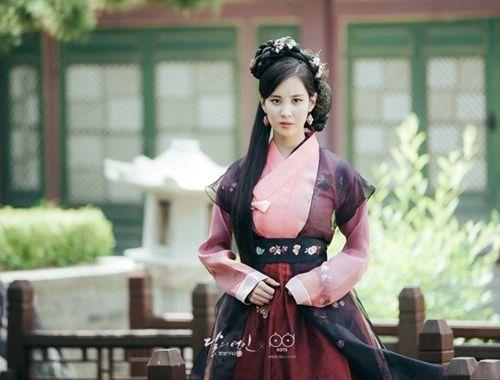 Xao xuyến với tạo hình cổ trang của mỹ nam mỹ nữ xứ Hàn - Ảnh 15