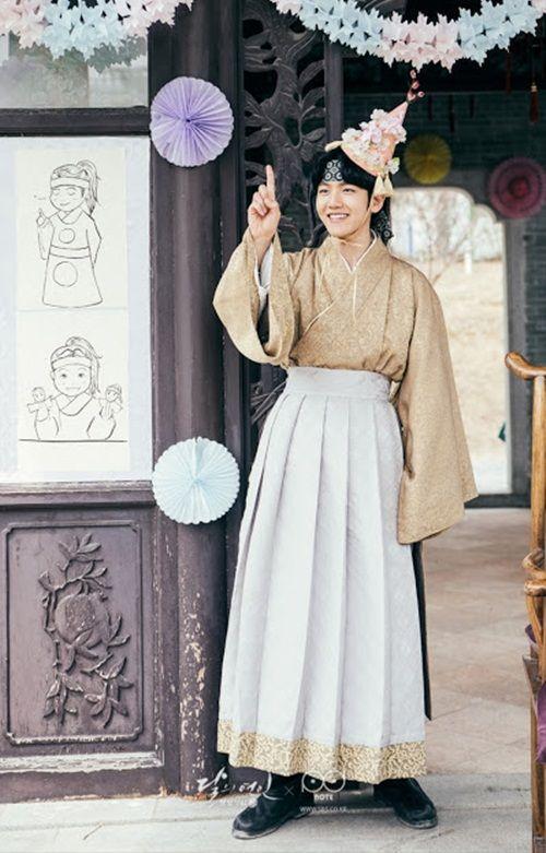 Xao xuyến với tạo hình cổ trang của mỹ nam mỹ nữ xứ Hàn - Ảnh 38