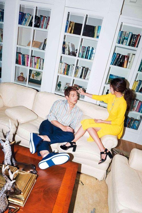 Kim Tae Hee và Bi Rain ngọt ngào chia sẻ về hôn nhân - Ảnh 5
