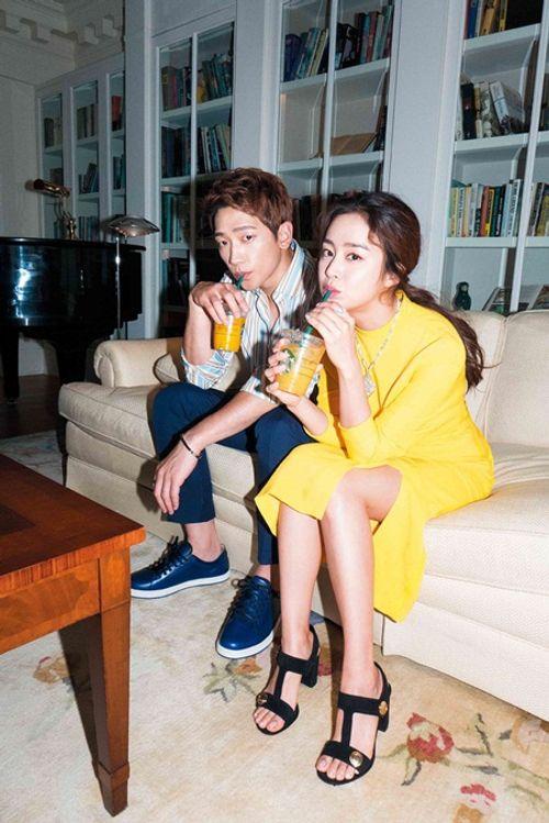 Kim Tae Hee và Bi Rain ngọt ngào chia sẻ về hôn nhân - Ảnh 7
