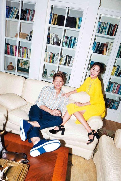 Kim Tae Hee và Rain đã sẵn sàng chào đón con đầu lòng - Ảnh 1