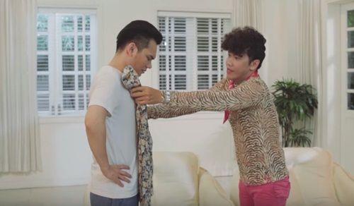 """Sốc với loạt hình ảnh đậm chất """"pê-đê"""" của Khắc Việt trong phim ngắn - Ảnh 2"""