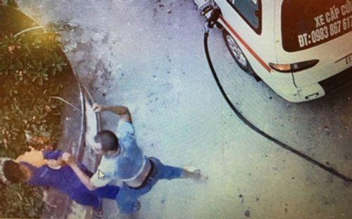 Điều tra vụ lái xe cứu thương đánh nhân viên cây xăng nhập viện - Ảnh 1