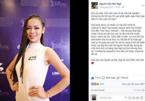 """Mai Ngô lý giải chuyện mãi """"cố chấp"""" với Hoa hậu Hoàn vũ Việt Nam - Ảnh 5"""