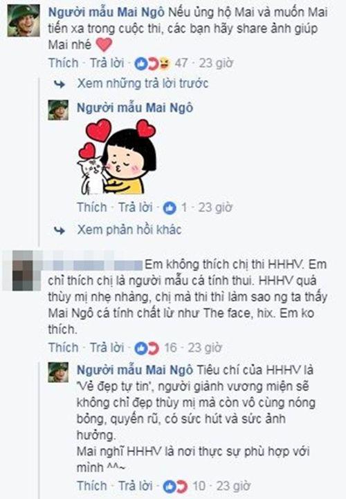 """Mai Ngô lý giải chuyện mãi """"cố chấp"""" với Hoa hậu Hoàn vũ Việt Nam - Ảnh 6"""