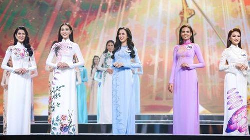 NTK Đinh Văn Thơ phản pháo lời chê về BST áo dài chung kết Hoa hậu Hoàn vũ Việt Nam - Ảnh 1
