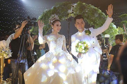 """Dàn sao """"khủng"""" và những hình ảnh ấn tượng nhất tại đám cưới Lâm Khánh Chi - Ảnh 13"""