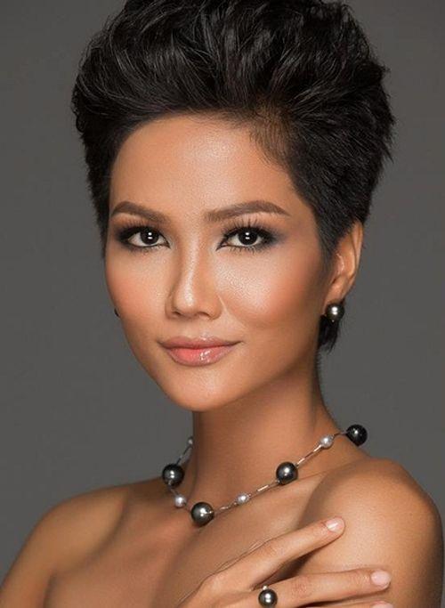 Hoa hậu H'Hen Niê tóc ngắn cá tính, tóc dài cũng xinh đẹp không kém ai - Ảnh 3