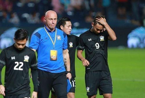 U23 Thái Lan thất bại 1-5 trước U23 Palestine - Ảnh 1