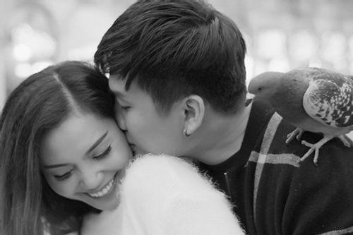 """Nguyễn Ngọc Anh hôn say đắm """"người tình tin đồn"""" Tô Minh Đức ở Venice - Ảnh 6"""