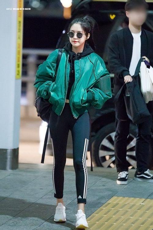 """Ngắm nhìn thân hình chuẩn mực của """"nữ hoàng quần legging"""" Naeun - Ảnh 9"""