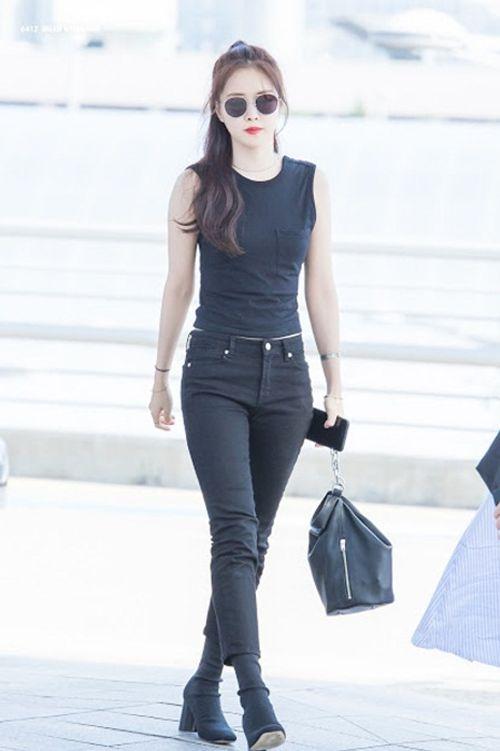 """Ngắm nhìn thân hình chuẩn mực của """"nữ hoàng quần legging"""" Naeun - Ảnh 12"""