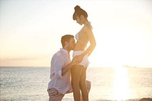 Siêu mẫu Hà Anh hạnh phúc tiết lộ đang mang thai con đầu lòng - Ảnh 1