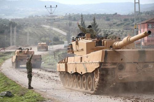 Bộ binh Thổ Nhĩ Kỳ đã tiến quân vào Syria - Ảnh 1