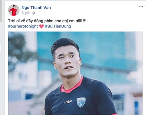 """U23 Việt Nam chiến thắng: Mr Đàm """"đi bão"""", Tóc Tiên muốn hôn Tiến Dũng - Ảnh 10"""