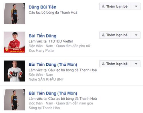 Hàng trăm tài khoản Facebook giả mạo các tuyển thủ U23 Việt Nam - Ảnh 1